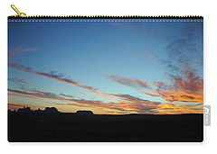 Monument Valley Sunset 2 Carry-all Pouch