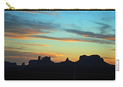Monument Valley Sunset 4  Carry-all Pouch