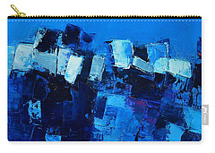 Mood In Blue Carry-all Pouch