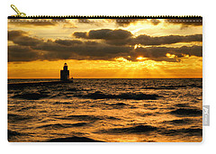 Moody Morning Carry-all Pouch by Bill Pevlor