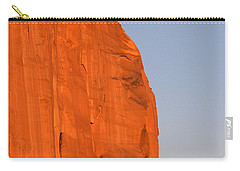 Moon At Monument Valley Carry-all Pouch
