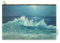 Moon Beach Painting Carry-all Pouch