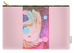 Carry-all Pouch featuring the painting Moon Dance by Ann Calvo