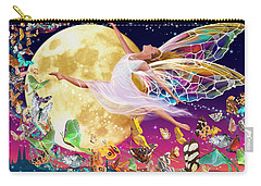 Moon Fairy Variant 1 Carry-all Pouch by Garry Walton