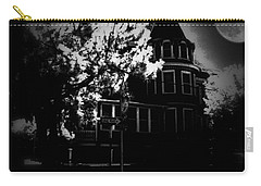 Carry-all Pouch featuring the photograph Moon N U by Robert McCubbin
