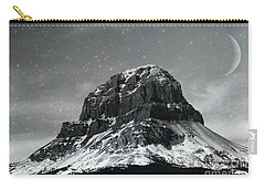 Moon Over Crowsnest Carry-all Pouch by Alyce Taylor