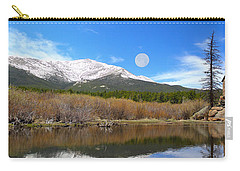 Moon Over St. Malo Carry-all Pouch