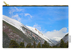 Moon Over The Rockies Carry-all Pouch