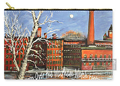 Moon Over Waltham Watch Carry-all Pouch