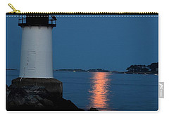 Moon Over Winter Island Salem Ma Carry-all Pouch