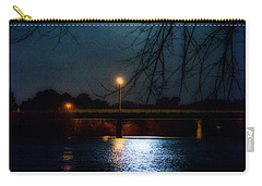 Moon Set Lake Pleasurehouse Carry-all Pouch