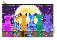 Moon Shadow Meow Carry-all Pouch