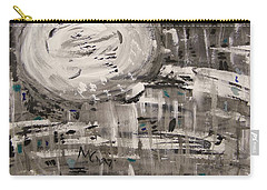 Carry-all Pouch featuring the painting Moon Shimmer by Mary Carol Williams