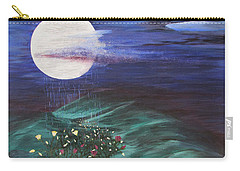 Moon Showers Carry-all Pouch by Cheryl Bailey