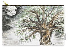 Moon Whisper  Carry-all Pouch by Teresa White