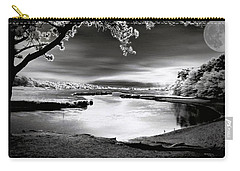 Carry-all Pouch featuring the photograph Moona Lagoona by Robert McCubbin