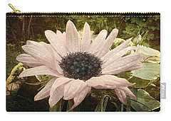 Carry-all Pouch featuring the digital art Moonflower by Barbara Orenya