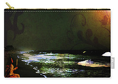 Moonlight Gives Girl Hope In The Darkness Carry-all Pouch