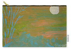 Moonlight In The Wild Carry-all Pouch