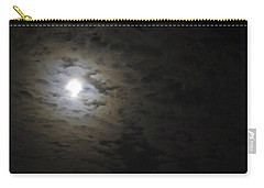 Carry-all Pouch featuring the photograph Moonlight by Marilyn Wilson