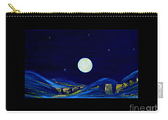 Moonlight. Winter Collection Carry-all Pouch