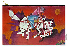 Moonlight Ride Carry-all Pouch by Bern Miller