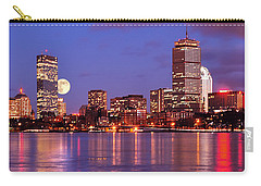 Moonlit Boston On The Charles Carry-all Pouch