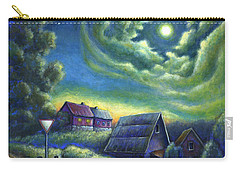 Moonlit Dreams Come True Carry-all Pouch by Retta Stephenson