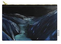Moonlit Glacier Carry-all Pouch