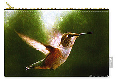 Moonlit Iridescence  Carry-all Pouch by Barbara Chichester