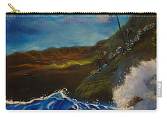 Moonlit Wave 11 Carry-all Pouch