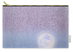 Carry-all Pouch featuring the painting Moonrise by Margaret Bobb