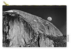 Moonrise Over Half Dome Carry-all Pouch