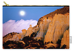 Moonrise Over The Kaiparowits Plateau Utah Carry-all Pouch
