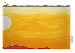 Moonshine Original Painting Sold Carry-all Pouch
