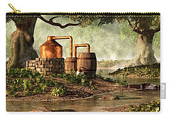 Moonshine Still 1 Carry-all Pouch by Daniel Eskridge