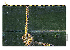 Carry-all Pouch featuring the photograph Mooring Hitch by Marty Saccone