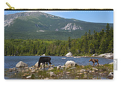 Moose Baxter State Park Maine Carry-all Pouch