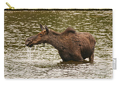 Moose In The Wilderness Carry-all Pouch