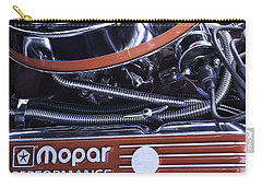 Carry-all Pouch featuring the photograph Mopar Performance - Super Bee 1969 by Steven Milner