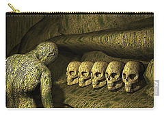 Carry-all Pouch featuring the digital art Morbid Vespers by John Alexander