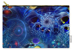 Carry-all Pouch featuring the digital art More Things In Heaven And Earth by Casey Kotas