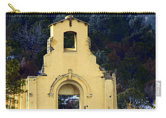 Carry-all Pouch featuring the photograph Mountain Mission Church by Barbara Chichester