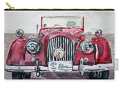 Carry-all Pouch featuring the painting Morgan by Anna Ruzsan