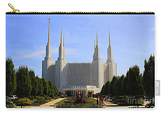 Mormon Temple Dc Carry-all Pouch