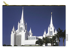 Mormon Temple Carry-all Pouch