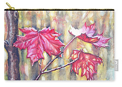 Morning After Autumn Rain Carry-all Pouch by Shana Rowe Jackson