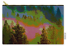 Morning Arrives In The Pacific Northwest Carry-all Pouch