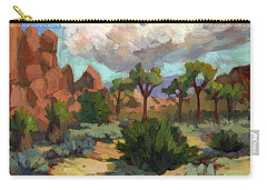 Morning At Joshua Carry-all Pouch