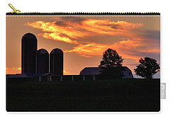 Morning Blush Carry-all Pouch by Robert Geary